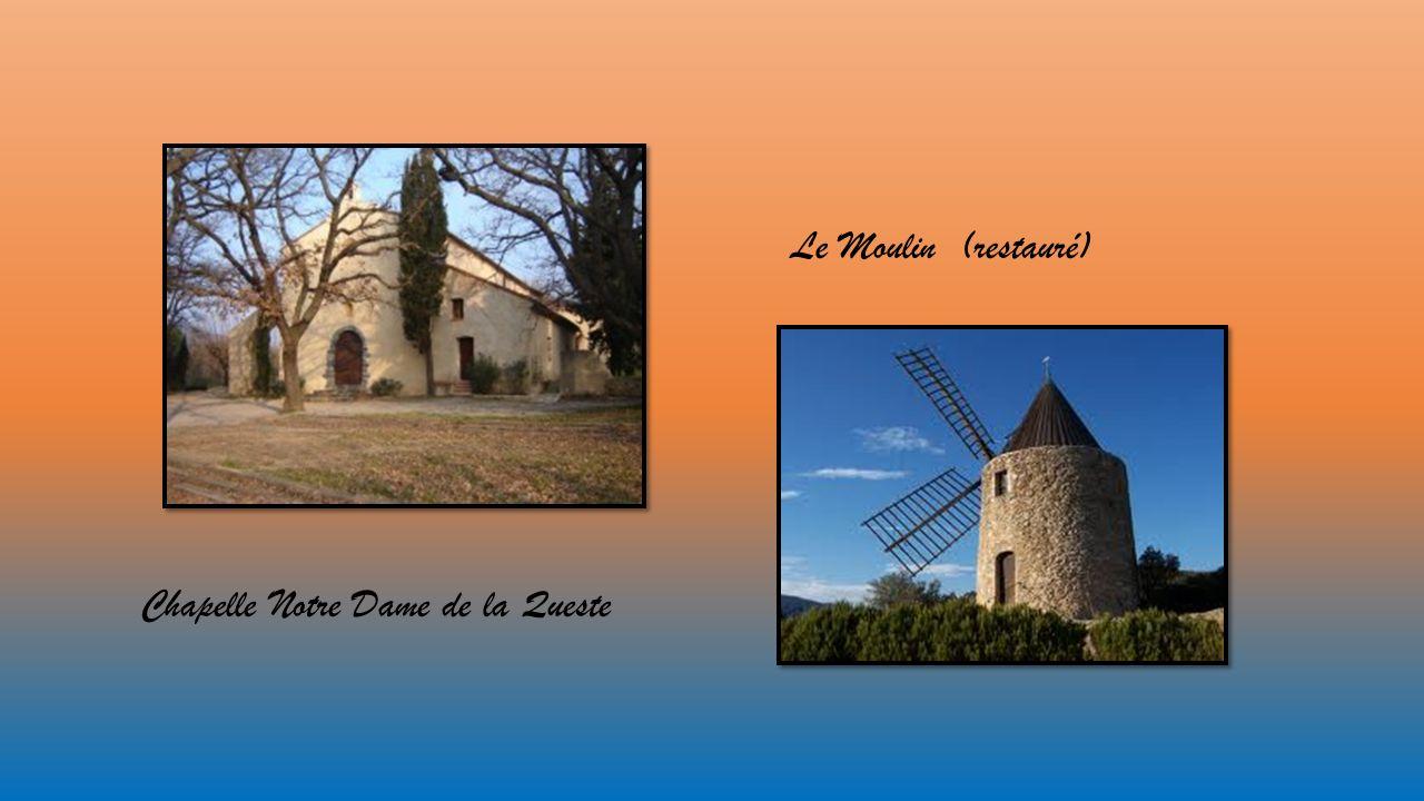 Le Moulin (restauré) Chapelle Notre Dame de la Queste