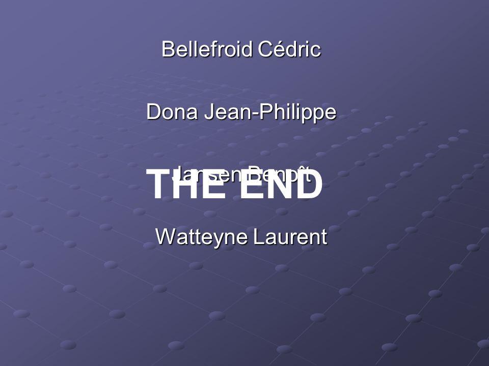 THE END Bellefroid Cédric Dona Jean-Philippe Jansen Benoît