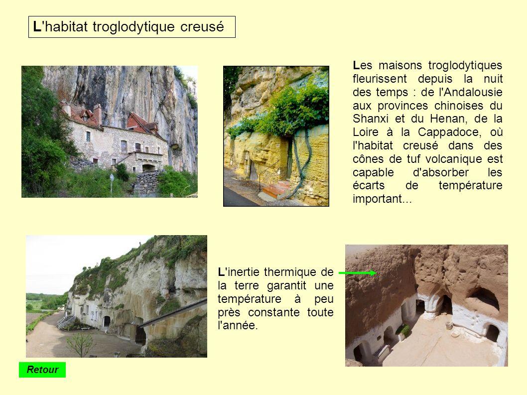 L habitat troglodytique creusé