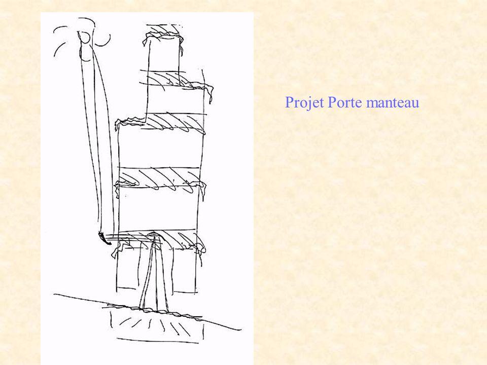 Projet Porte manteau