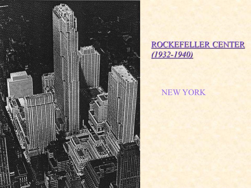 ROCKEFELLER CENTER (1932-1940)