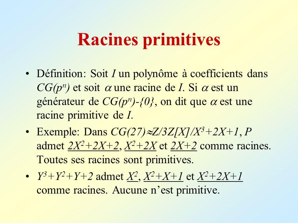 Racines primitives