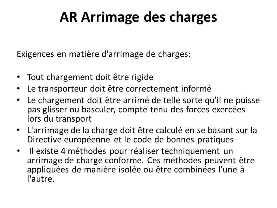 AR Arrimage des charges