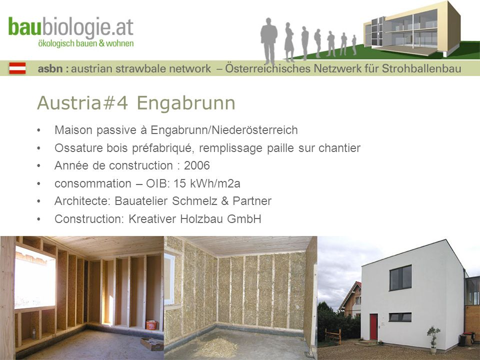 Austria#4 Engabrunn Maison passive à Engabrunn/Niederösterreich