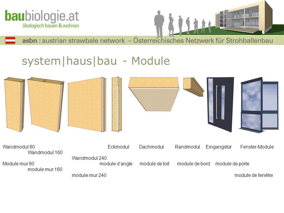 system|haus|bau - Module