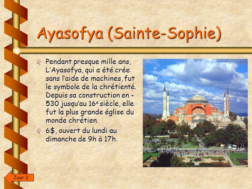 Ayasofya (Sainte-Sophie)