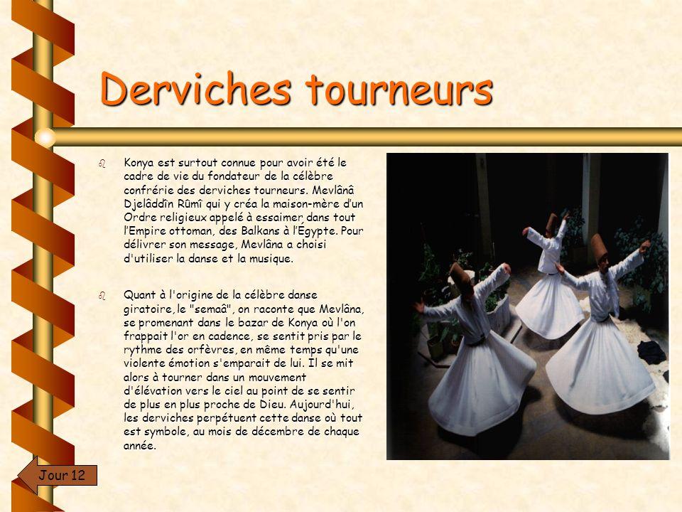 Derviches tourneurs Jour 12