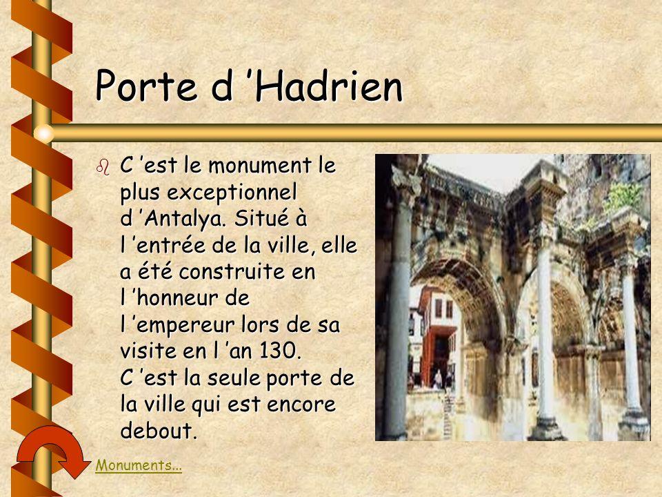 Porte d 'Hadrien