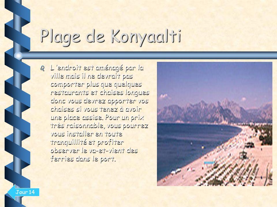 Plage de Konyaalti