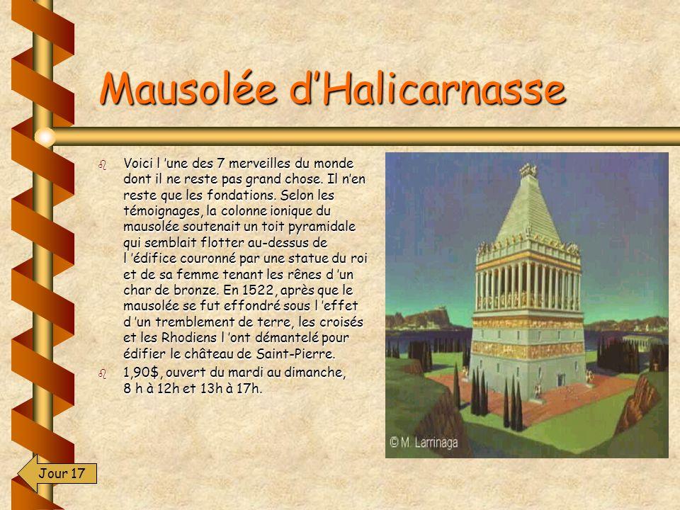 Mausolée d'Halicarnasse