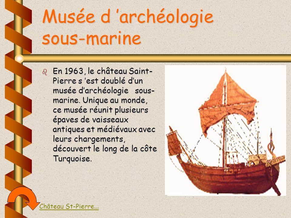 Musée d 'archéologie sous-marine