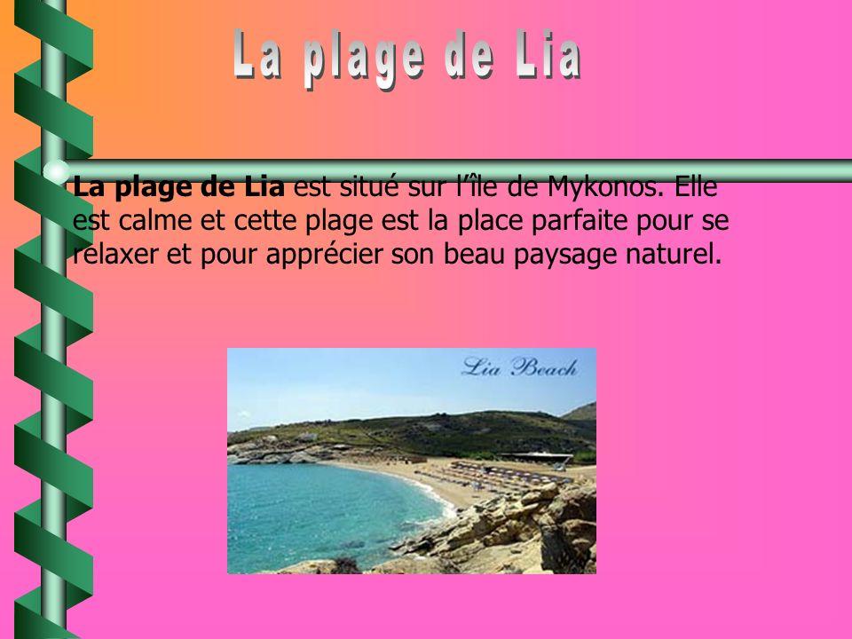 La plage de Lia
