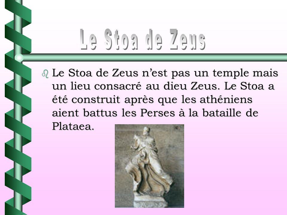 Le Stoa de Zeus