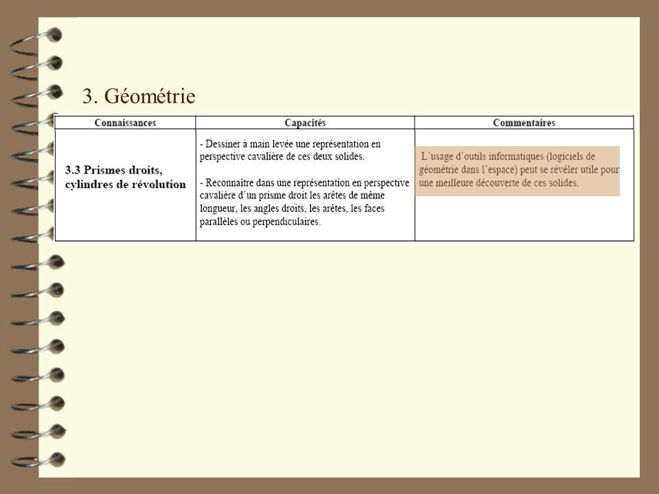 3. Géométrie