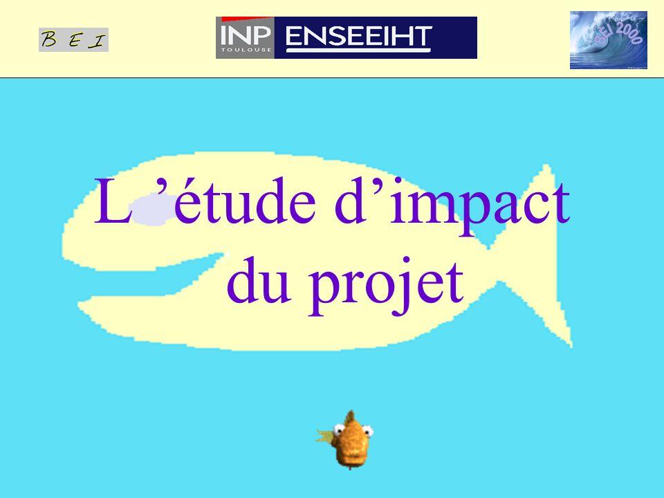 L 'étude d'impact du projet