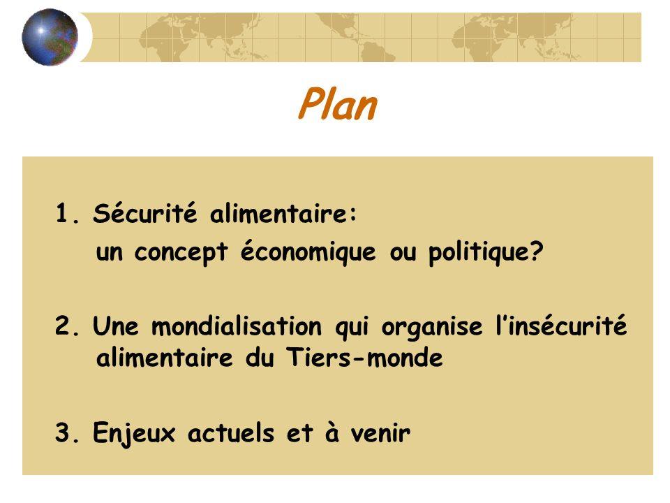 Plan un concept économique ou politique