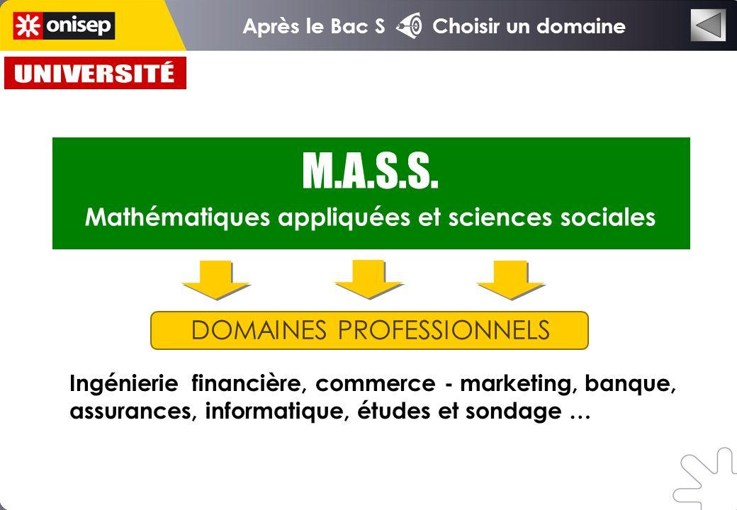 Mathématiques appliquées et sciences sociales