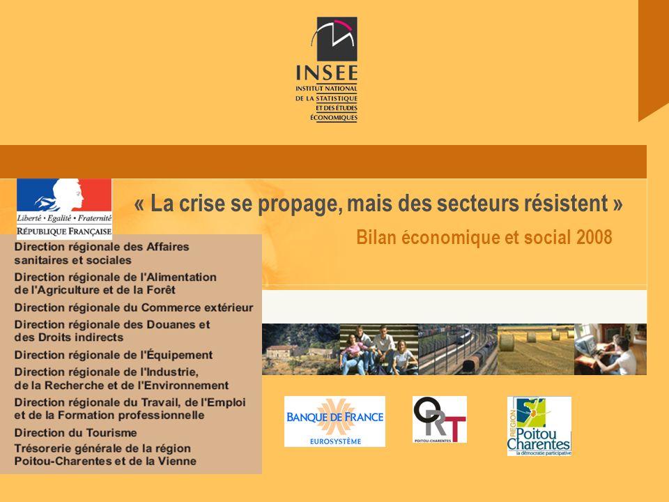 Bilan économique et social 2008