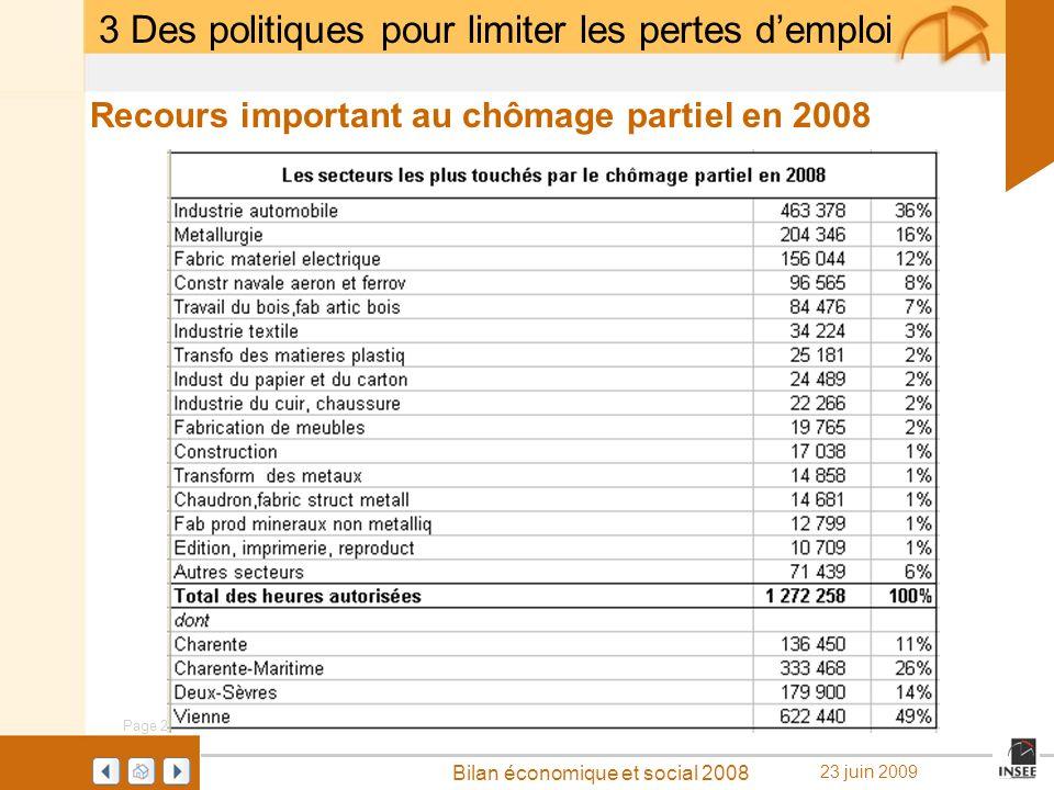 3 Des politiques pour limiter les pertes d'emploi