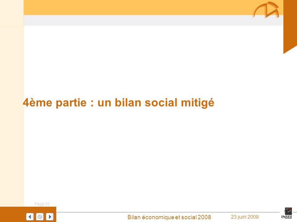 4ème partie : un bilan social mitigé