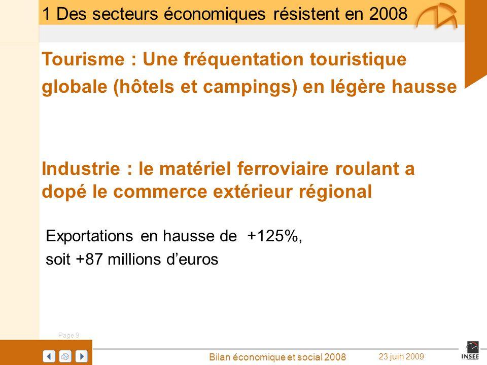 Tourisme : Une fréquentation touristique