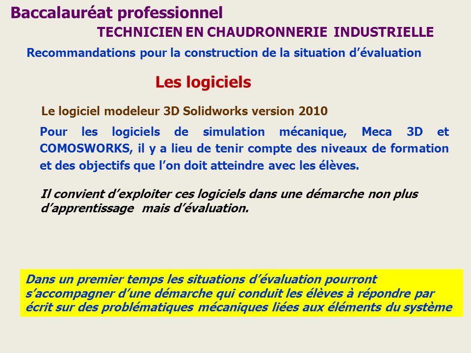 Baccalauréat professionnel TECHNICIEN EN CHAUDRONNERIE INDUSTRIELLE
