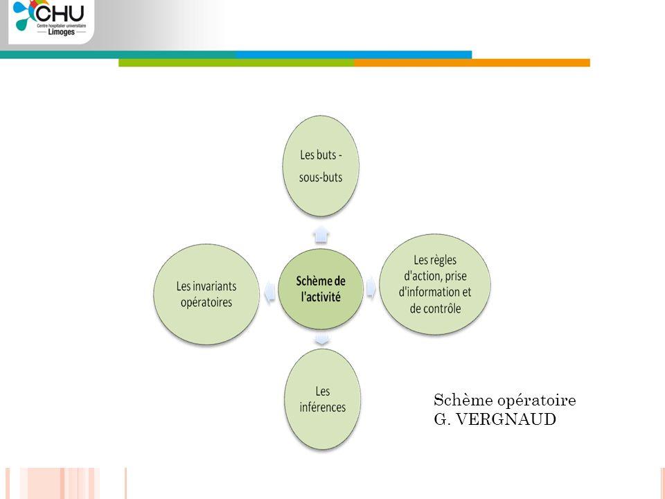 Schème opératoire G. VERGNAUD Projet I.F.S.I - 2010 / 2011