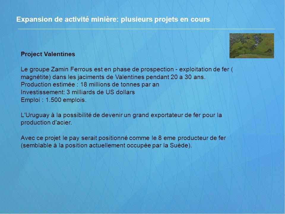 Expansion de activité minière: plusieurs projets en cours