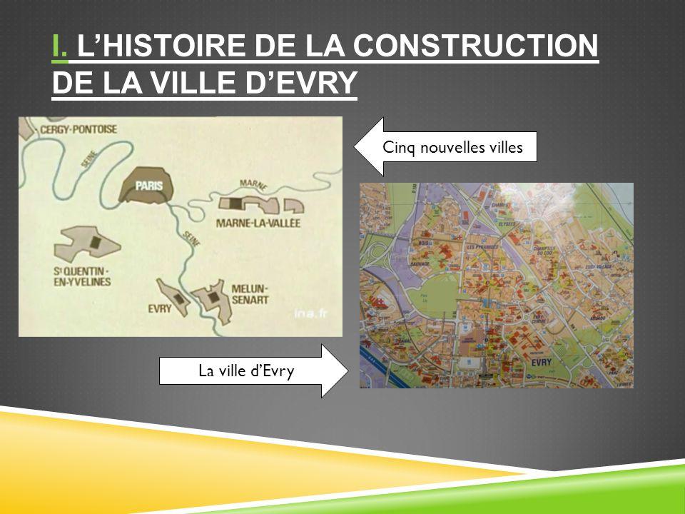 I. L'histoire de la construction de la ville d'Evry