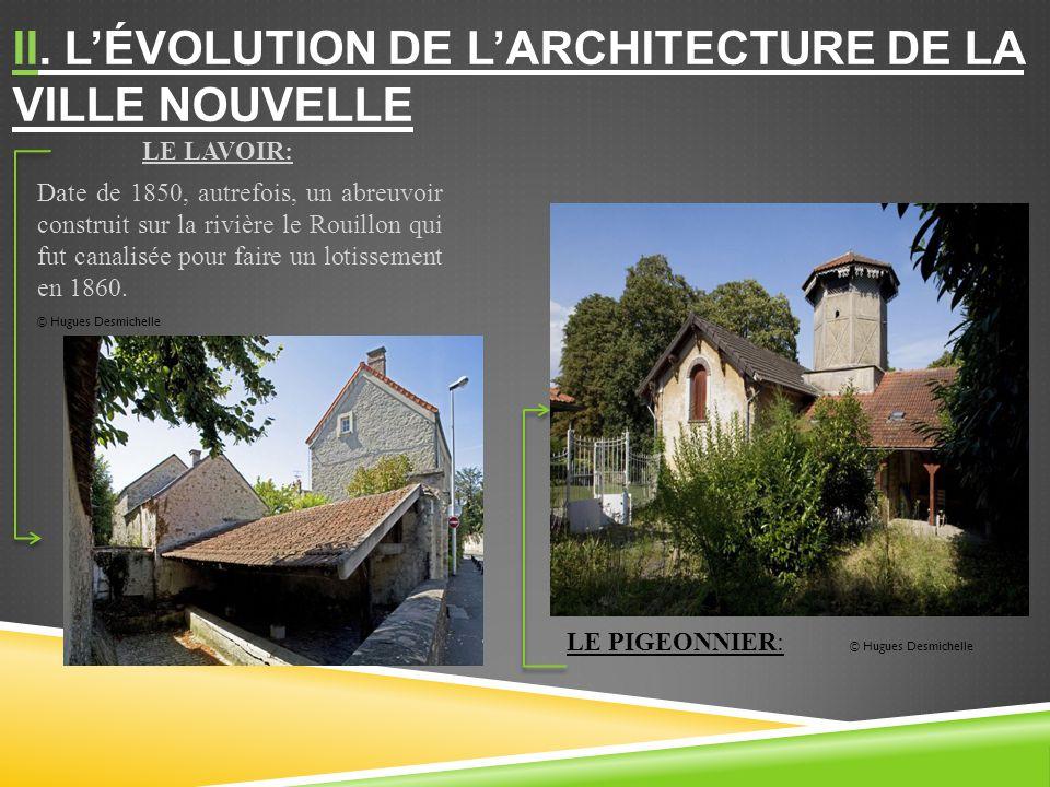 II. L'évolution de l'architecture de la ville nouvelle