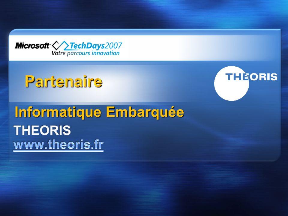 Partenaire Informatique Embarquée THEORIS www.theoris.fr