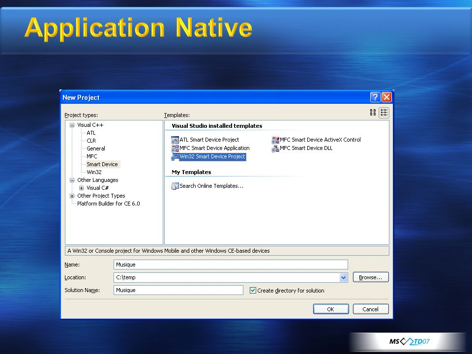 Application Native