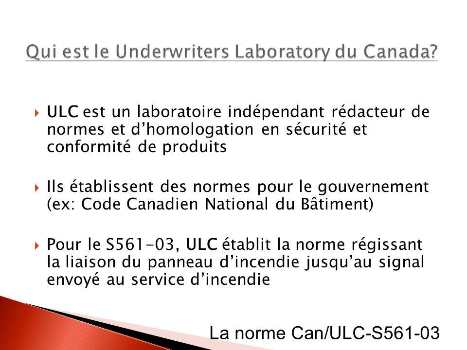 Qui est le Underwriters Laboratory du Canada