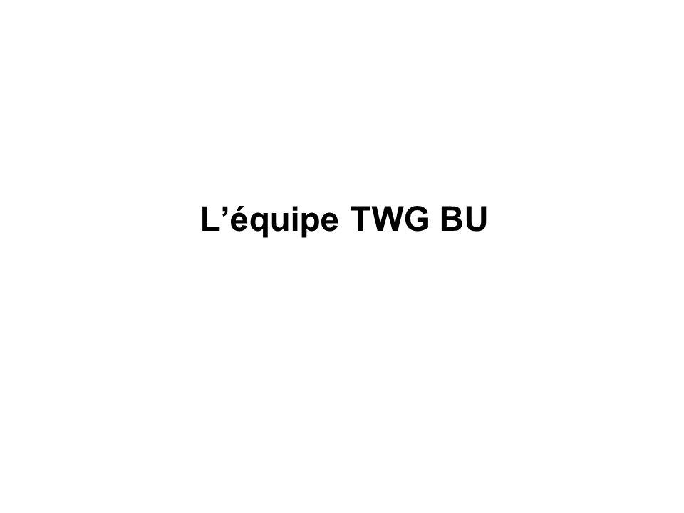 L'équipe TWG BU