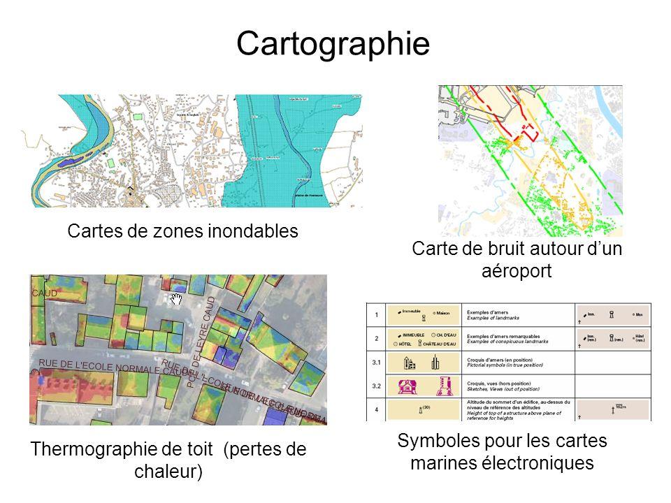 Cartographie Cartes de zones inondables