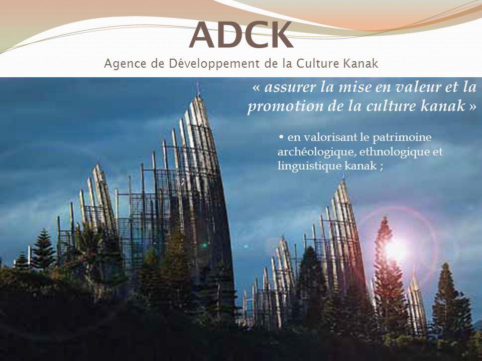 ADCK Agence de Développement de la Culture Kanak