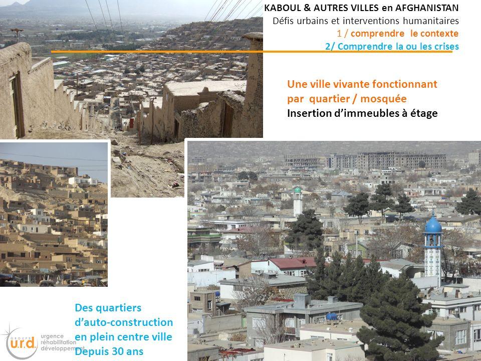 Une ville vivante fonctionnant par quartier / mosquée