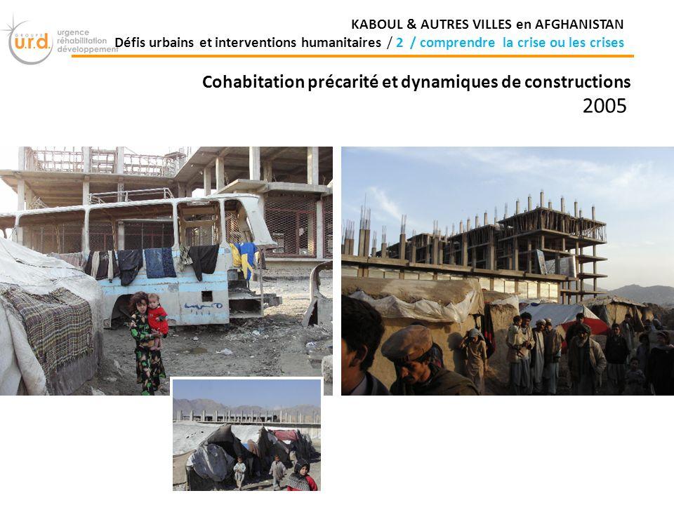 2005 Cohabitation précarité et dynamiques de constructions