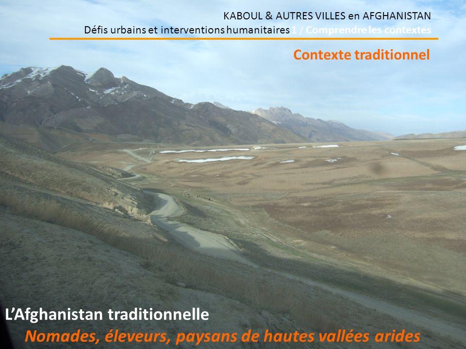 Nomades, éleveurs, paysans de hautes vallées arides