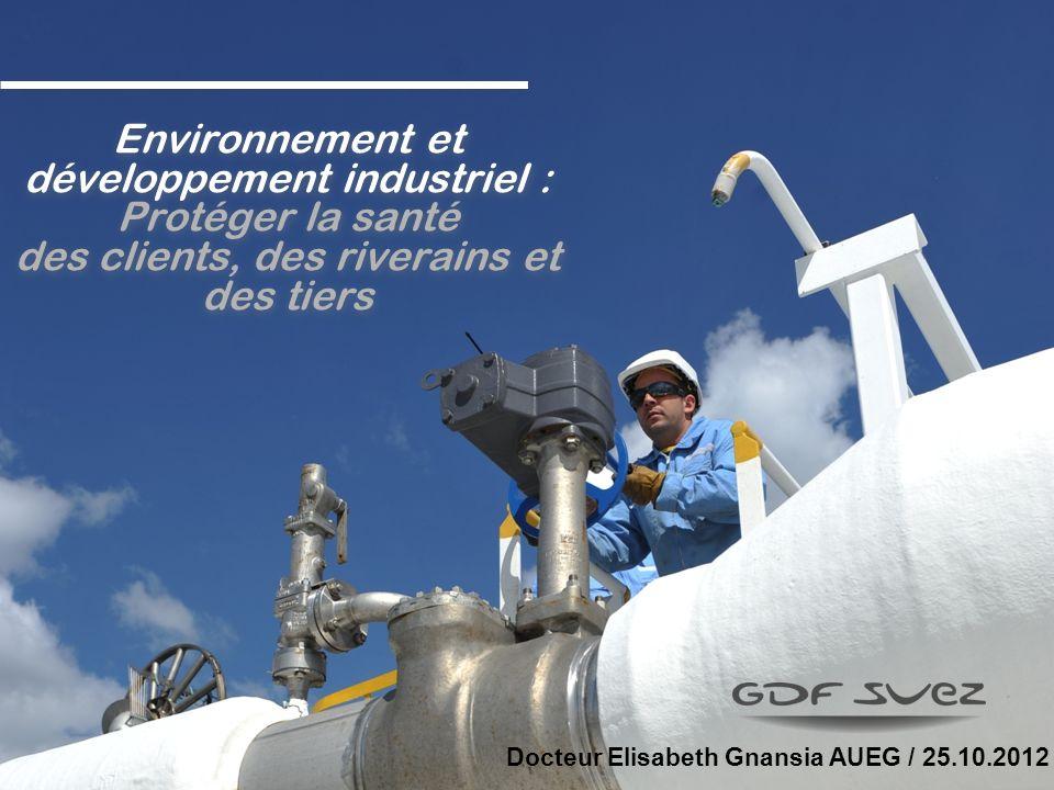 Environnement et développement industriel : Protéger la santé