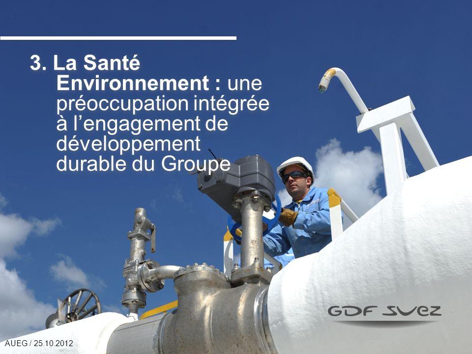 3. La Santé Environnement : une préoccupation intégrée à l'engagement de développement durable du Groupe