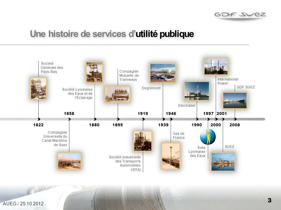 Une histoire de services d'utilité publique
