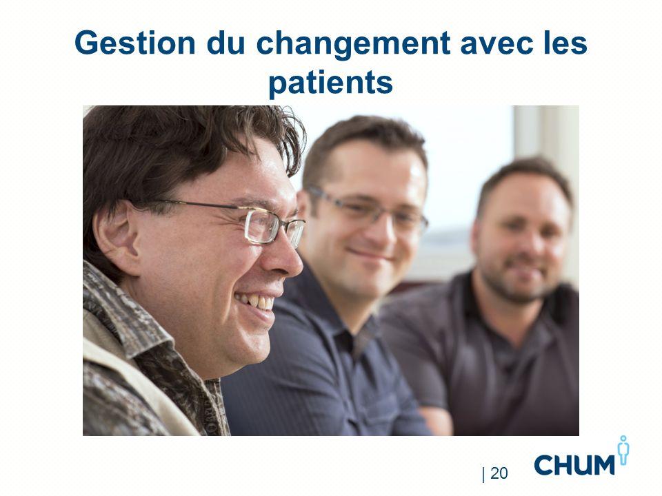Gestion du changement avec les patients