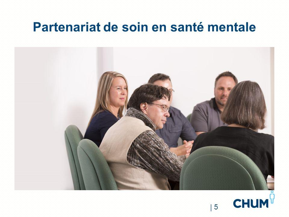 Partenariat de soin en santé mentale