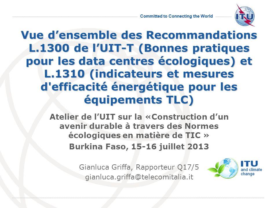 Gianluca Griffa, Rapporteur Q17/5