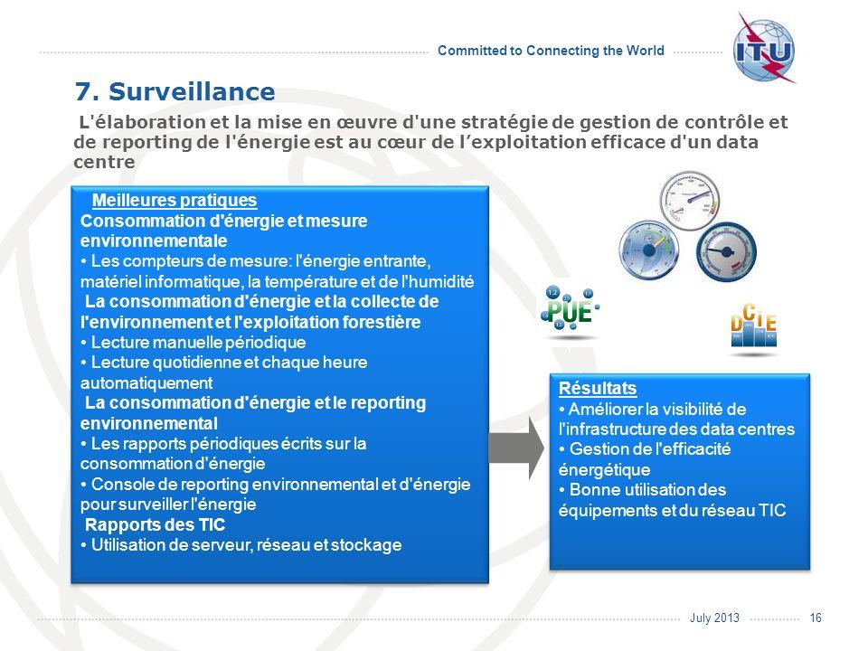 7. Surveillance