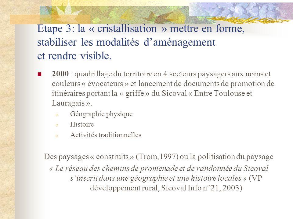 Des paysages « construits » (Trom,1997) ou la politisation du paysage