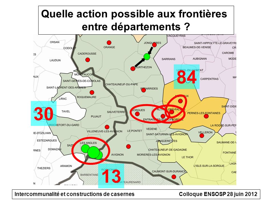 Quelle action possible aux frontières
