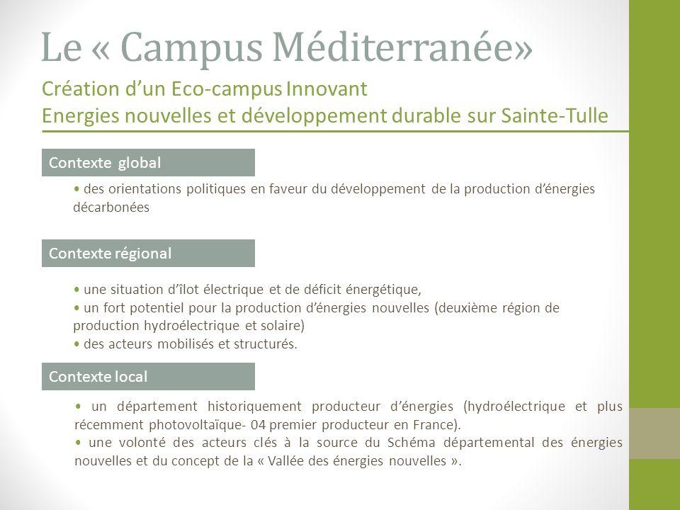Le « Campus Méditerranée»