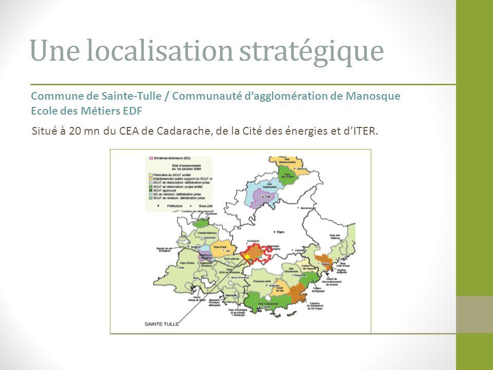 Une localisation stratégique